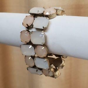 LOFT Statement Stretch Cuff Bracelet NEW #514